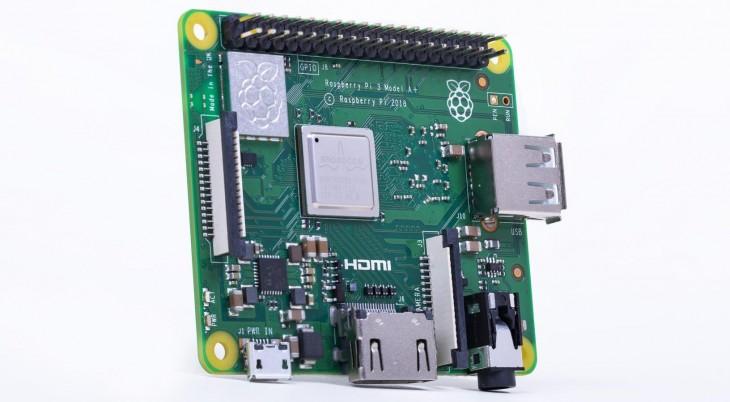 Raspberry Pi 3 Modelo A +
