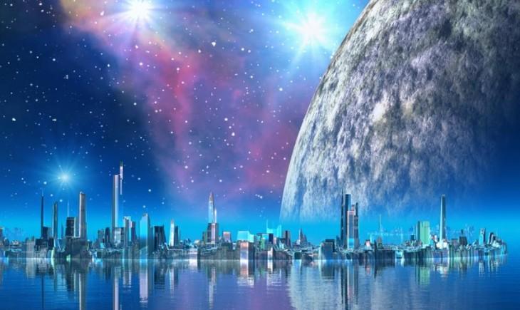 Ciudad del futuro. Imagen: depositphotos