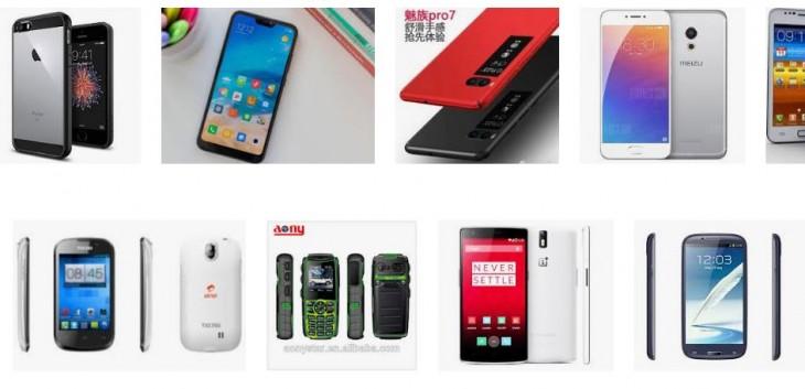 móviles chinos