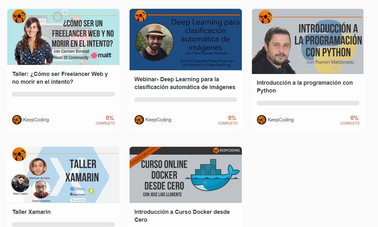 5 excelentes webinars y talleres para programadores