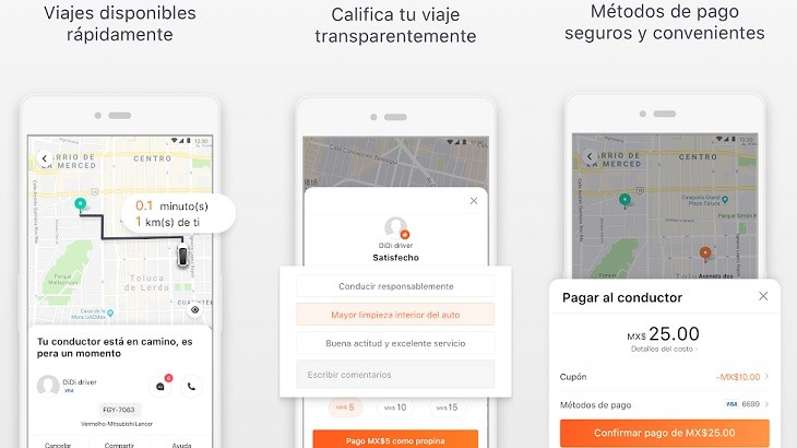 DiDi Pasajero app