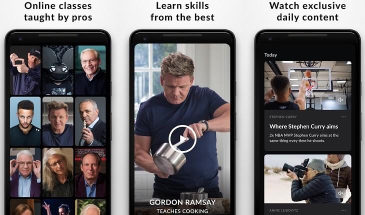 MasterClass app Android