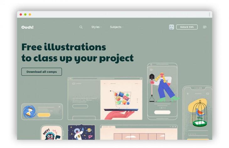 310 ilustraciones vectoriales gratuitas para nuestros proyectos