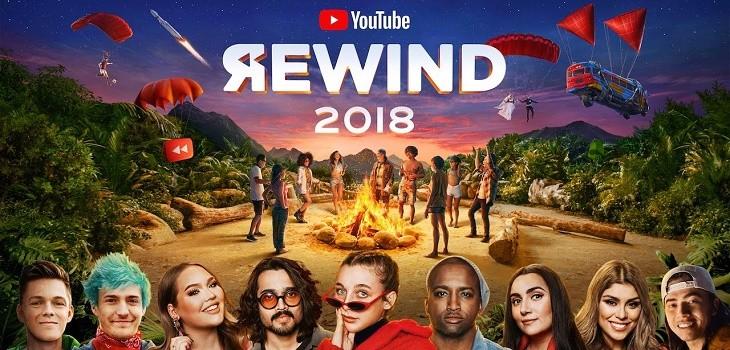 Vídeos con más dislikes de YouTube en 2018