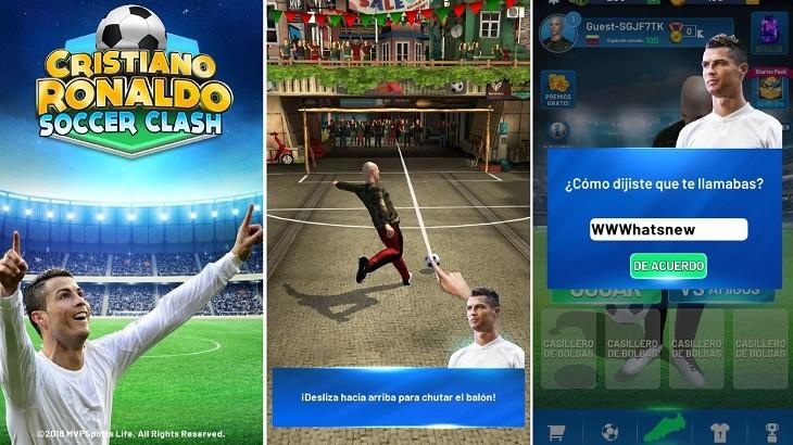 Cristiano Ronaldo Soccer Clash