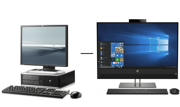 HP DC vs HP Pavilion All In Online