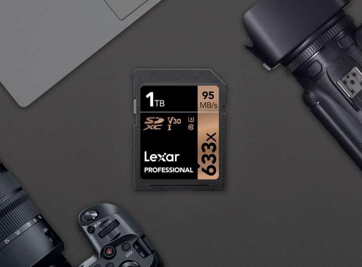 Lexar fabrica por fin tarjetas SD de 1 TB