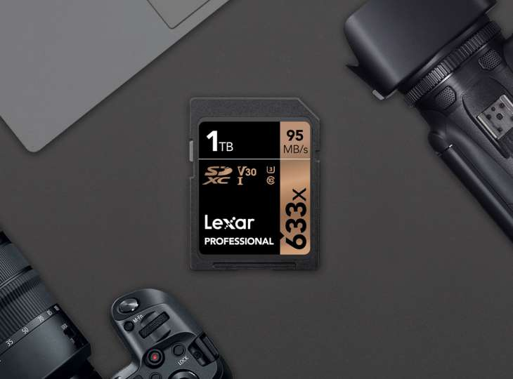 Ya a la venta la primera tarjeta SD de un terabyte