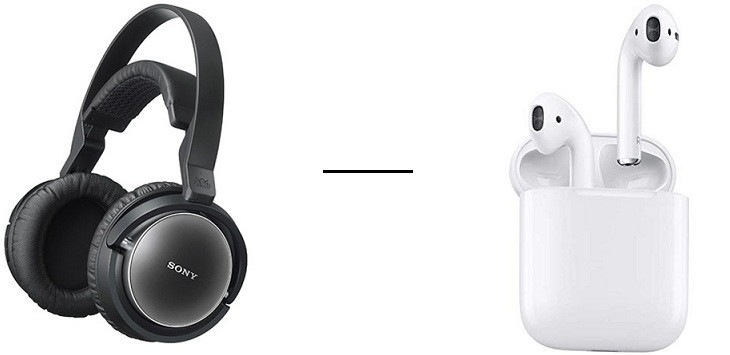 Sony auriculares vs AirPods