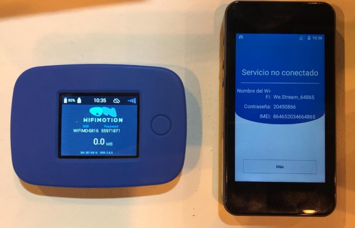 dispositivos WiFimotion