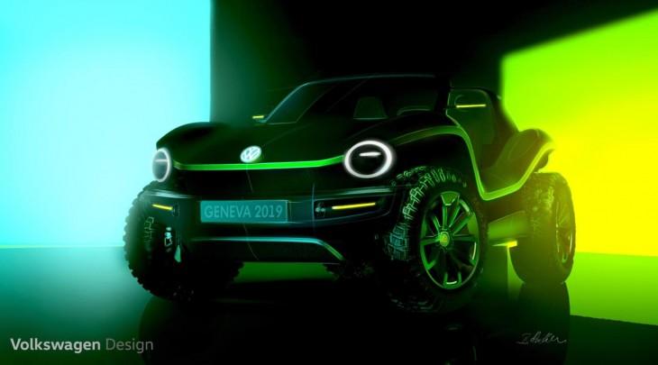 Nuevo Volkswagen Buggy eléctrico