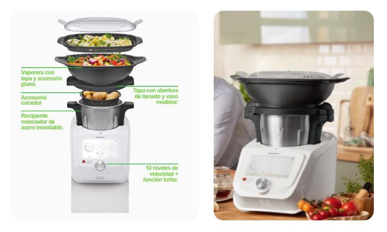 El robot de cocina de lidl que marc diferencia este 2018 - Robot cocina lidl ...