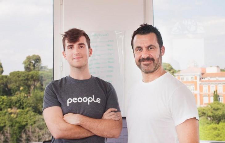 David y Gon, los fundadores de Peoople