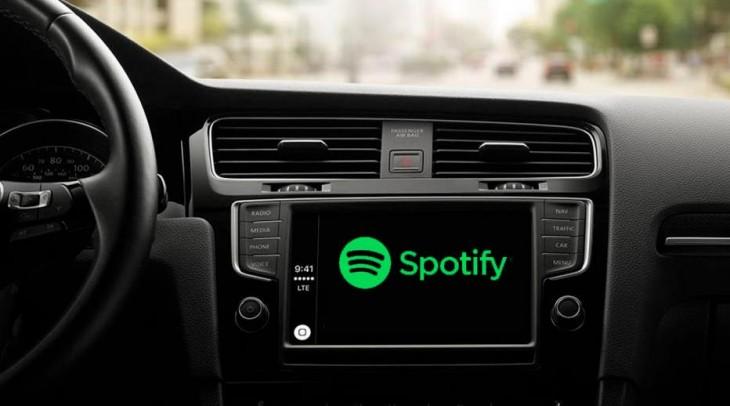 Spotify esta creando un dispositivo para reproducir música en los autos