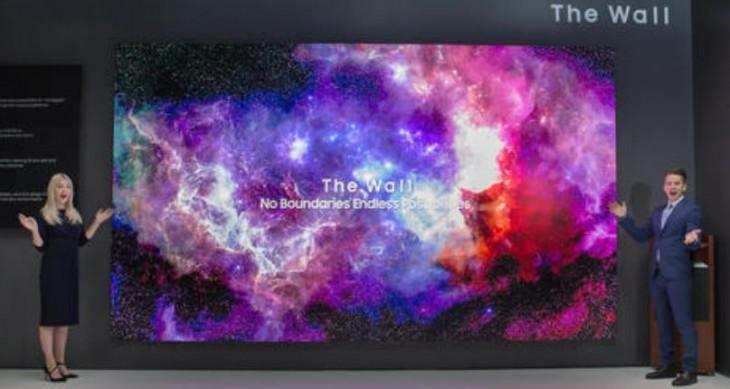 Samsung The Wall: El televisor modular MicroLED se renueva