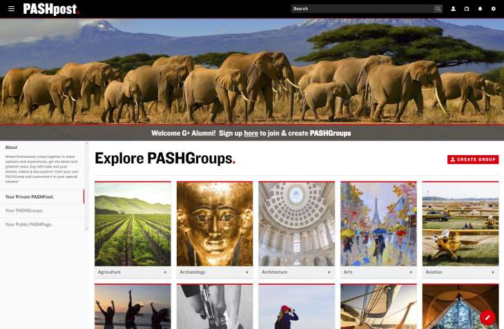 PASHGroups
