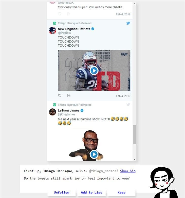 Limpiar nuestro Twitter