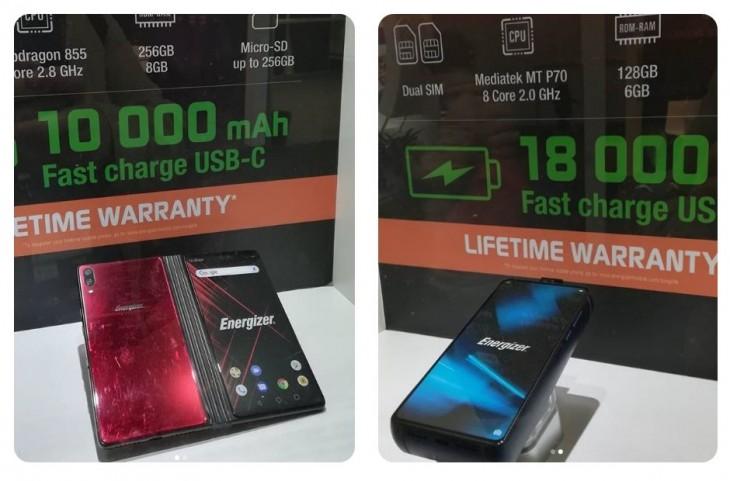 Dispositivos presentados en el MWC por Energizer
