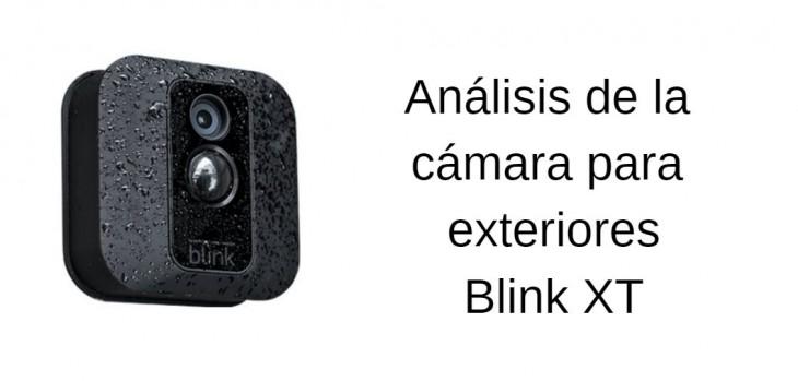 blink xt análisis