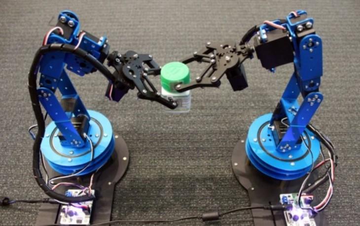Robots rastreando objetos