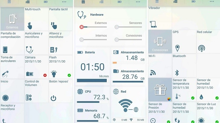 App para detectar problemas en el móvil
