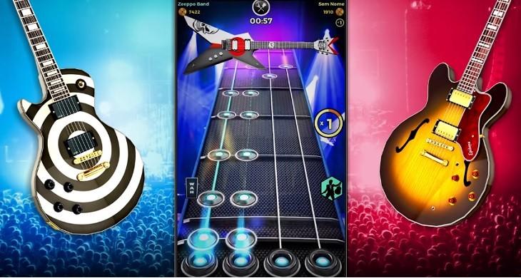 Juegos de Guitar Hero para Android