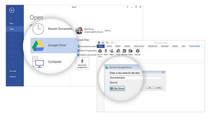 Plugin Google Drive