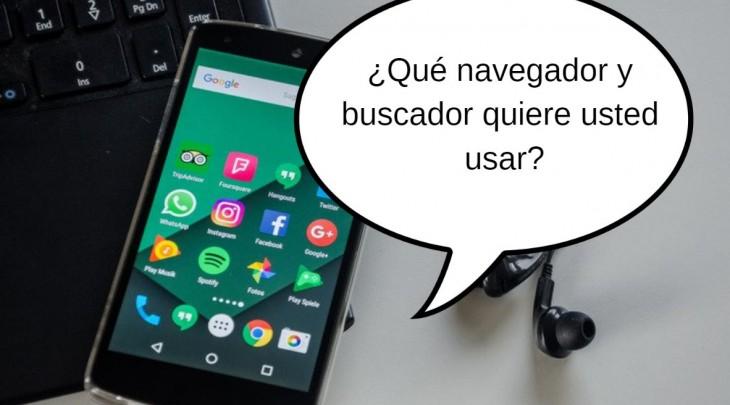 móvil preguntando cosas al usuario