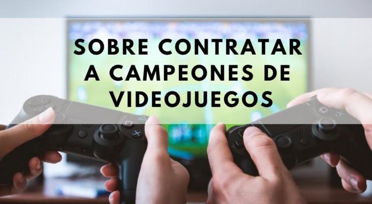 campeones videojuegos