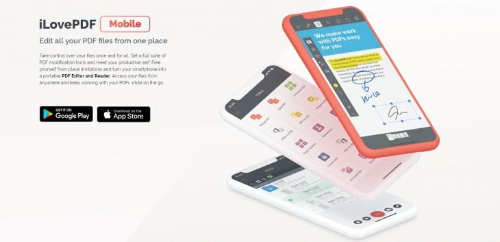 versión móvil iLovePDF
