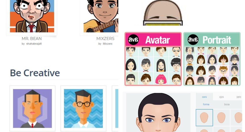 5 opciones para crear un avatar en Internet