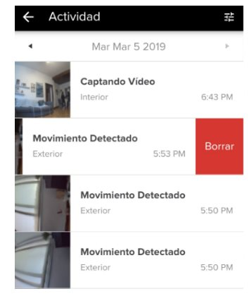 Visualización de vídeos de Swann