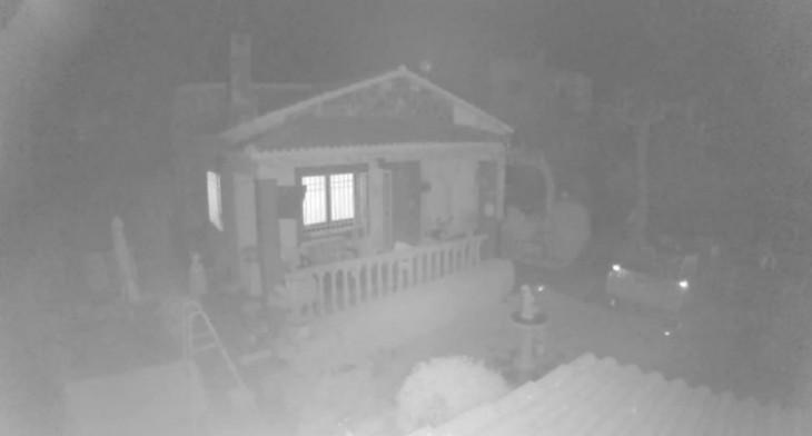 Aspecto nocturno con la Smart Security Camera