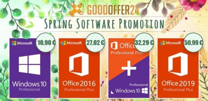 Las mejores promociones en software