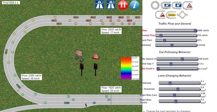 simulador tráfico
