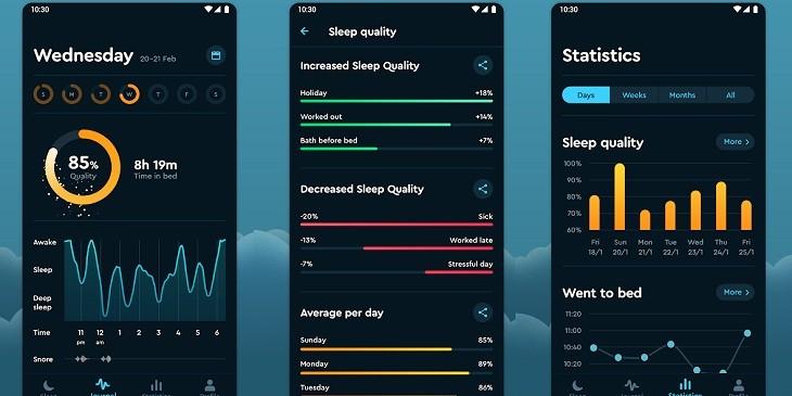 Ciclo del sueño app