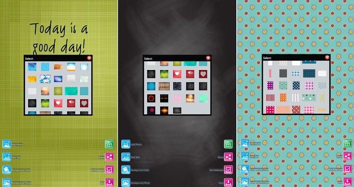 Creador de fondo de pantalla app