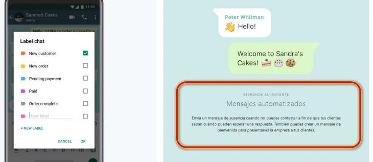 mensajes automaticos