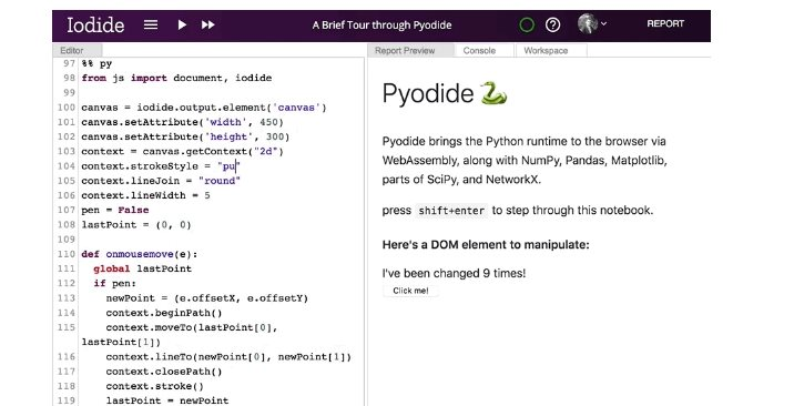 Pyodide