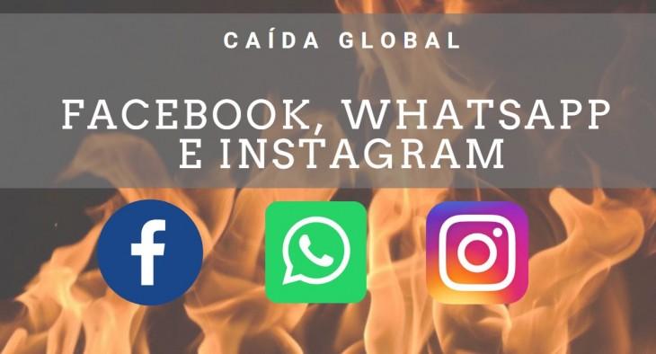 Colapso mundial de WhatsApp, Instagram y Facebook