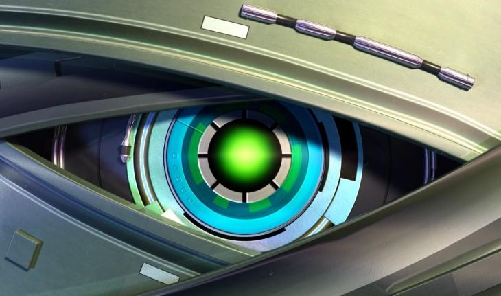 robot ojo