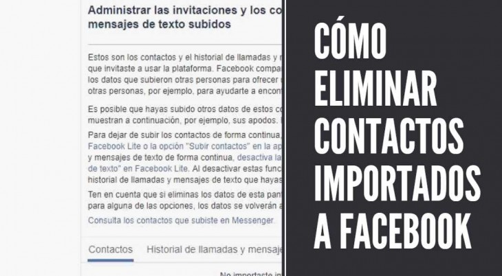 contactos facebook