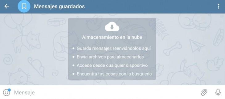 mensajes telegram