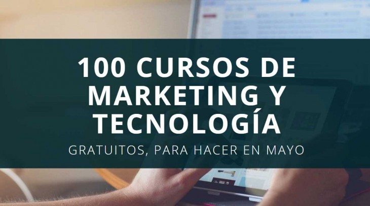 cursos tecnología y marketing