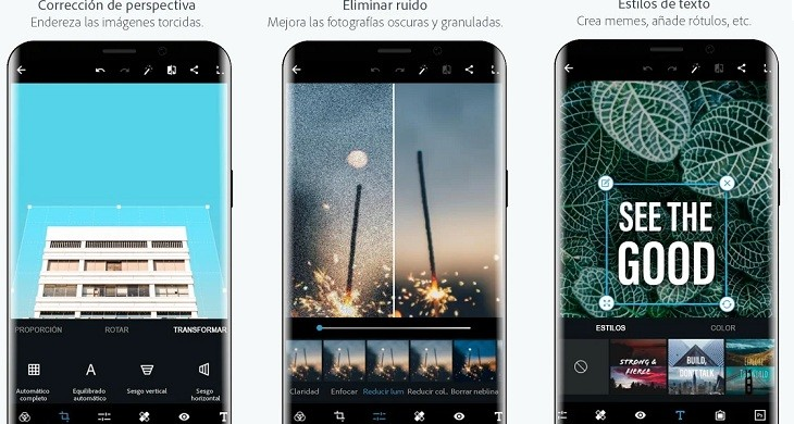 Adobe Photoshop Express app