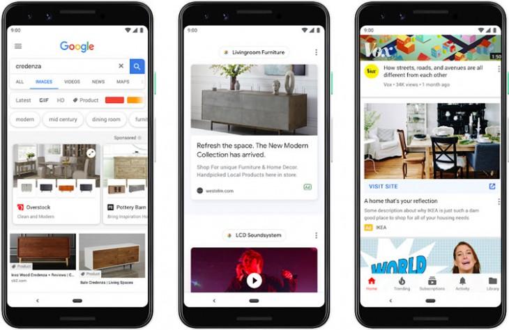 Formatos de anuncios Google