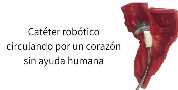 robot en corazón