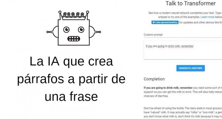 Una Inteligencia Artificial Que No Solo Completa Frases