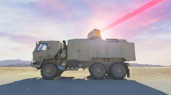 camión láser