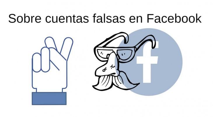 cuentas falsas facebook